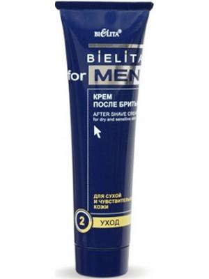 Bielita for men_КРЕМ після гоління для сухої та чутливої шкіри, 100 мл
