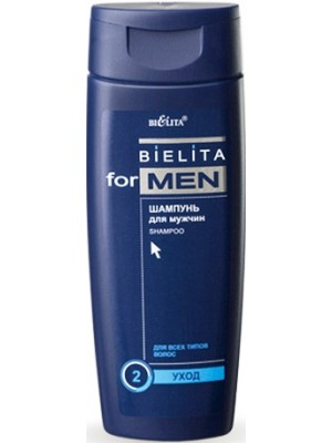 Bielita for men_ШАМПУНЬ для чоловіків, 250 мл