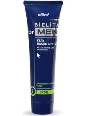 Bielita for men Гель после бритья,100 мл