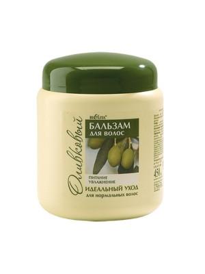 Оливковая линия Бальзам  для нормальных волос, 450 мл