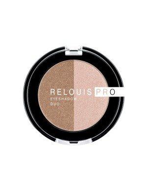 ТІНІ для повік Relouis Pro Eyeshadow Duo_ тон 111, 3 г