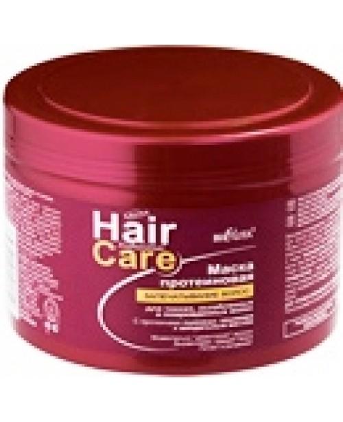 Hair care_МАСКА протеїнова запечатування волосся для тонкого, пошкодженого та послабленого волосся,