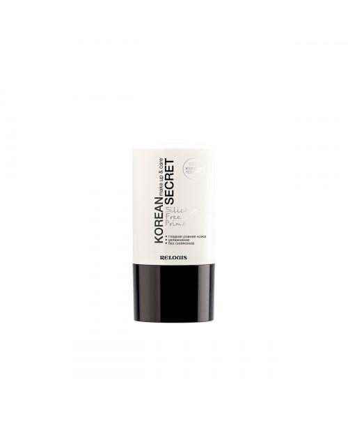 Korean secret_ ПРАЙМЕР для обличчя безсиліконовий make up & care Silicone Free Primer RELOUIS, 20 г