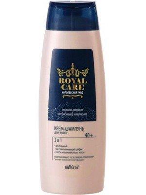 ROYAL CARE Королівський догляд_КРЕМ-ШАМПУНЬ для волосся 2в1, 400 мл