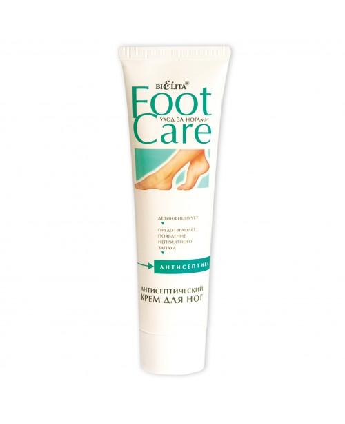 Догляд за ногами Foot care_КРЕМ антисептичний для ніг, 100 мл