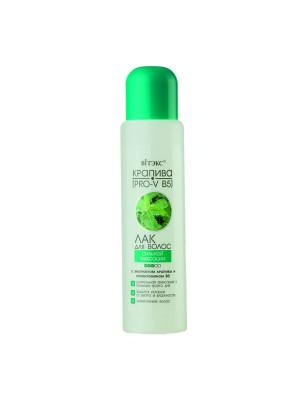 Для гіпермаркетів_ЛАК для волосся Сильної фіксації з екстрактом кропиви і провітаміном В5, 500 мл