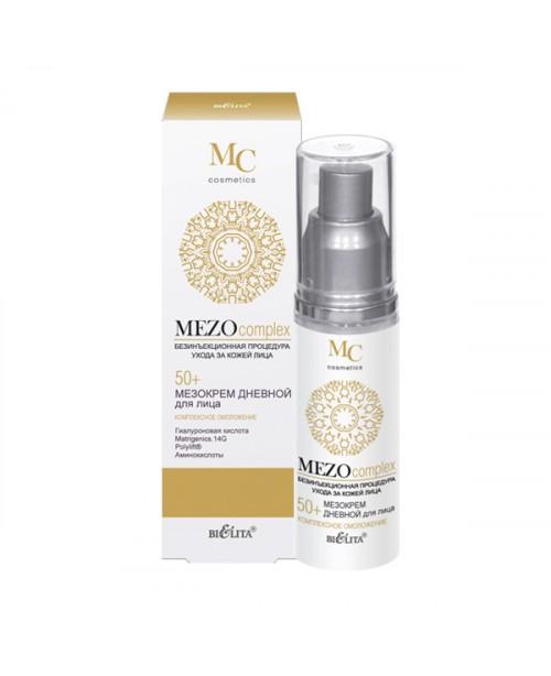MEZOcomplex_МЕЗОКРЕМ денний для обличчя 50+, Комплексне омолодження, 50 мл