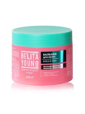 BELITA YOUNG Бальзам  для волос Блеск и сила, 300 мл