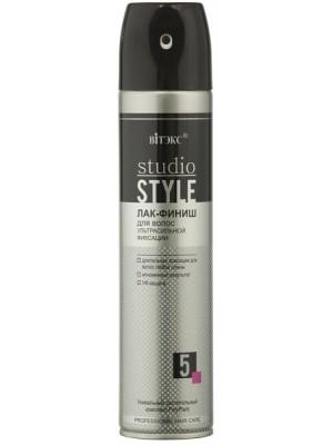 STUDIO STYLE - V_ЛАК-ФІНІШ для волосся ультрасильної фіксації (аерозоль), 300 мл