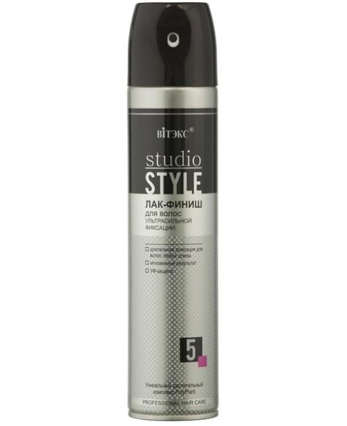 Лак-ФИНИШ для волос ультрасильной фиксации, аэроз. баллон., 300 мл.
