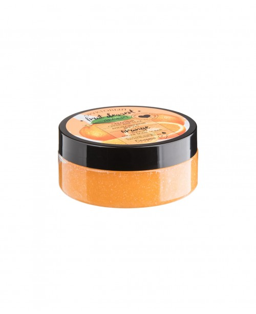 Фруктовый десерт_ СКРАБ сахарный для тела Апельсиновый йогурт, 200 г