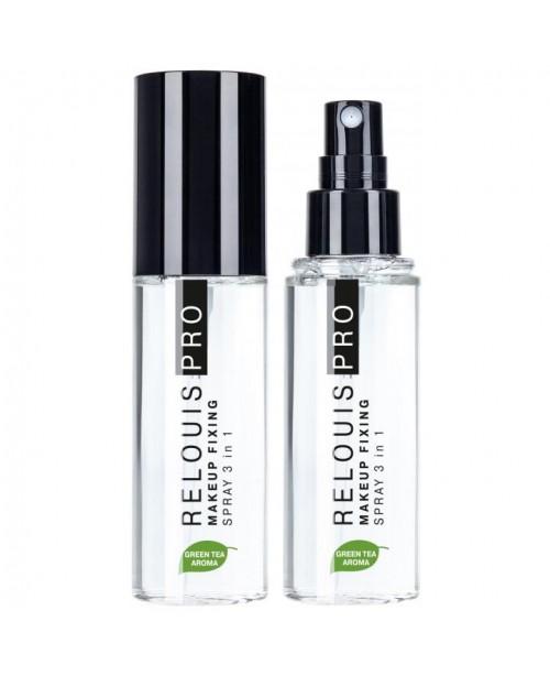 СПРЕЙ-ФІКСАТОР макіяжу RELOUIS PRO Makeup Fixing Spray 3 in 1, 50 мл