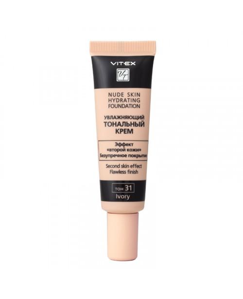 КРЕМ Тональний зволожуючий Nude skin hydrating foundation_ тон 31 Ivory, 30 мл