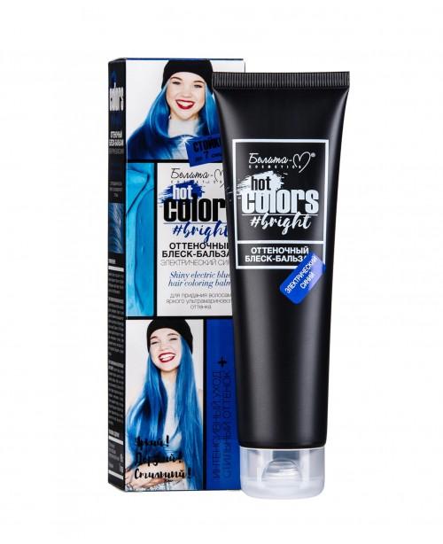 БЛИСК-БАЛЬЗАМ відтіночний Hot colors_ Електричний синій, 90 г