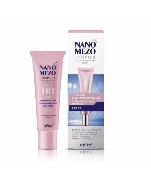 NANOMEZOcomplex_ DD КРЕМ Антивіковий сонцезахисний для обличчя SPF25, 30 мл