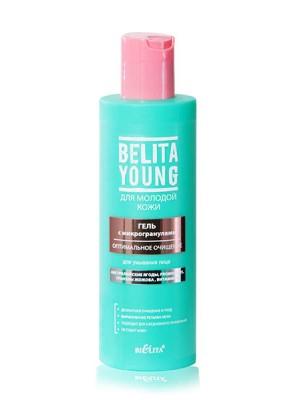 BELITA YOUNG Гель с микрогранулами для умывания лица Оптимальное очищение, 200 мл