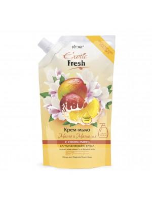 Exotic Fresh Крем-мыло_ Манго и Магнолия, дой-пак, 750 мл