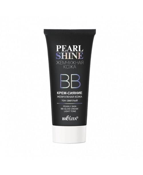 Pearl shine_ ВВ КРЕМ-сяйво Перлинна шкіра, тон світлий, 30 мл