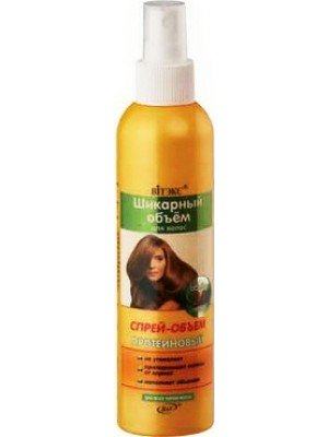 Шикарний об'єм_СПРЕЙ-ОБ'ЄМ протеїновий для усіх типів волосся, 200 мл
