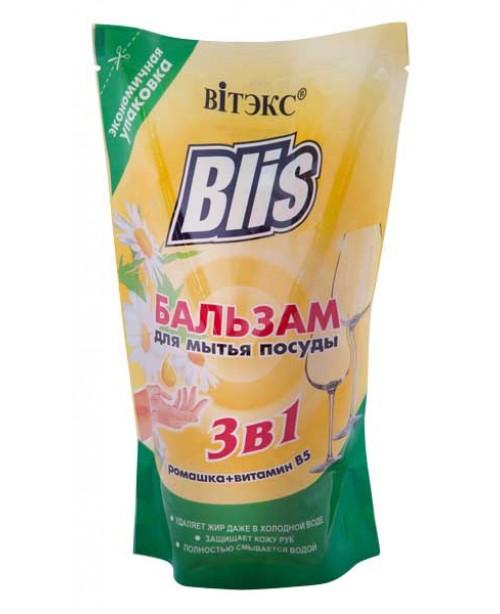 ДОЙ-ПАК_BLIS_БАЛЬЗАМ для миття посуду 3в1 Ромашка+вітамін В5, 470 мл